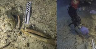Τα οστά ενός ακόμη ναυαγού και μια μολύβδινη καταπειρατηρία, εντοπίστηκαν στο Ναυάγιο των Αντικυθήρων
