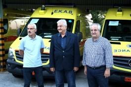 ΠΕΝΤΕ ΚΑΙΝΟΥΡΓΙΑ ΑΣΘΕΝΟΦΟΡΑ ΣΤΟ ΕΚΑΒ ΚΑΒΑΛΑΣ: Σε 24ωρη βάση διαθέσιμο ασθενοφόρο στην Θάσο από τον επόμενο μήνα