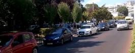 ΚΑΒΑΛΑ: Άμεση ήταν η επέμβαση του ασθενοφόρου, παρά το κυκλοφοριακό μπλοκάρισμα λόγω παζαριού