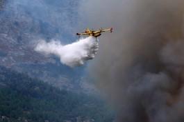Θάσος: Βλάβη σε πυροσβεστικό αεροσκάφος αναγκαστική προσγείωση στην Χρυσούπολη