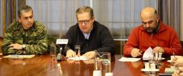 Τι μέτρα ισχύουν λόγω κακοκαιρίας – Ευρεία σύσκεψη πραγματοποιήθηκε χθες για την αντιμετώπιση της κατάστασης
